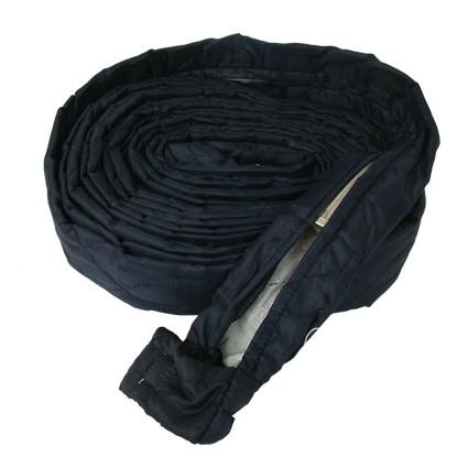 Stoff Schlauchschutz mit Zippverschluss