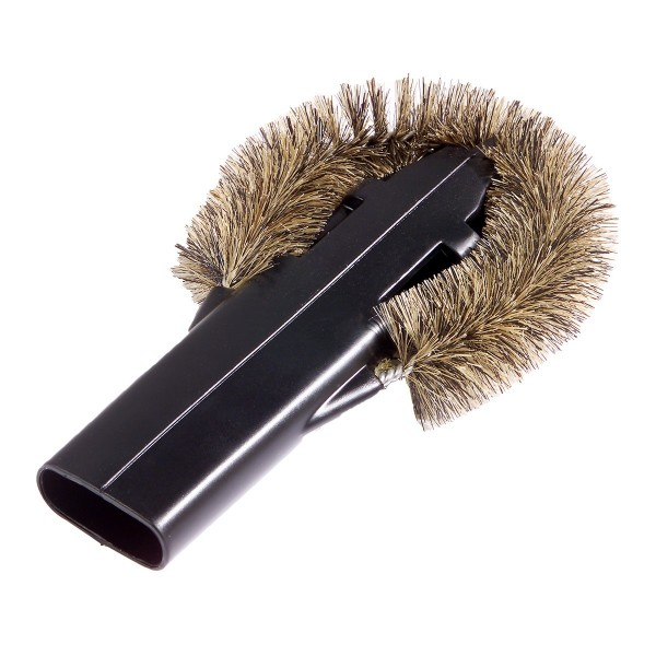 Heater cleaning brush